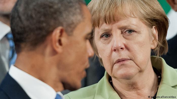 مقامهای آمریکایی حاضر نیستند بگویند از چه زمانی موبایل صدراعظم آلمان شنود میشده است.