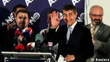 Parlamentswahlen Tschechien Andrej Babis 26.10.2013