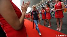 Sebastian Vettel Großer Preis von Indien 27.10.2013