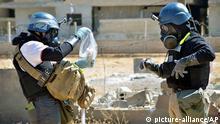 Syrien UN Waffeninspektoren