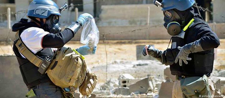 Em 2013, especialistas da ONU investigaram uso de armas químicas em Damasco