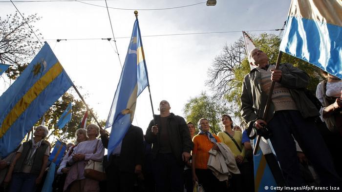 Großdemonstrationen in Budapest für Autonomie der Ungarn in Rumänien
