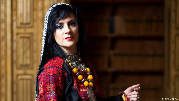 Rim Banna, Sängerin aus Palästina. Copyright: Rim Bann ( Privat)
