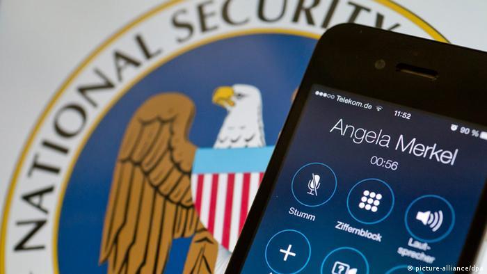 Bundeskanzlerin Merkel NSA Überwachung Obama Symbolbild Lädiertes Bündnis