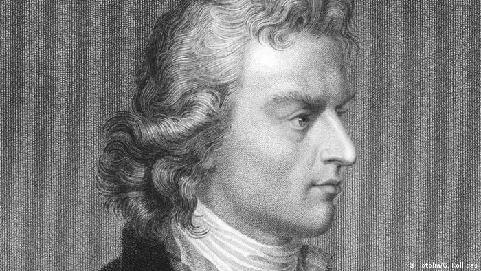 Ein Porträt Friedrich Schillers