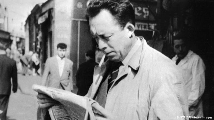 Bildergalerie Albert Camus (STF/AFP/Getty Images)