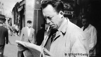 French author Albert Camus, Copyright: STF/AFP/Getty Images