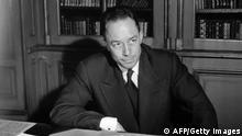 Bildergalerie Albert Camus 1957