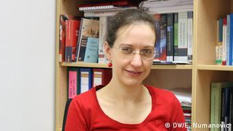 Porträt von Karin Traunmüller von der Uni Wien (Foto: DW/E. Numanovic)