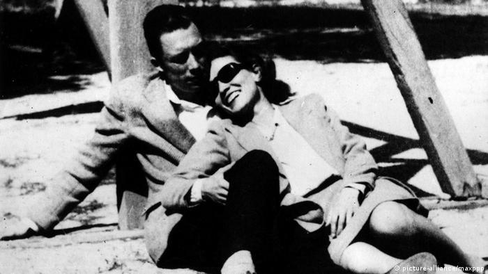 Albert Camus ve eşi Francine Faure
