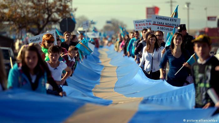 Seklerskie protesty w Rumunii