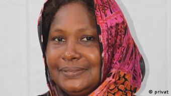 """Bild 1: Frau Dr. Mariama Gamatche, Frauenrechtlerin und Vorsitzende der Partei """"Racine"""", Niamey/Niger. Das Fotos von Frau Gamatche ist uns von ihr selbst zur freien Verfügung überlassen worden (Quelle: privat). Zulieferer: Mohammad Awal"""