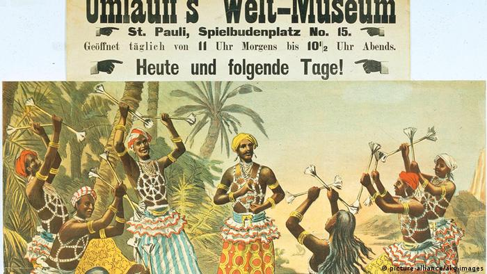 Umlauff's Weltmuseum - Plakat - Umlauff's Weltmuseum / Poster - (picture-alliance/akg-images)