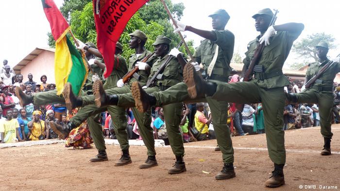 Guinea-Bissau Armee Soldaten