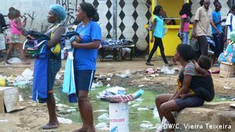 Luanda Leben in Sao Paulo Verkäuferinnen