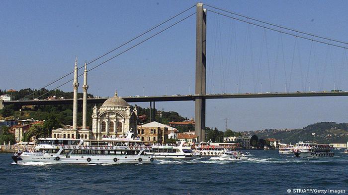 Bosporusbrücke in Istanbul