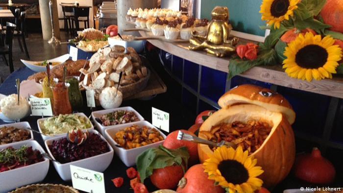 Buffet im Restaurant Ecco (Foto: Nicole LöhnertDW)