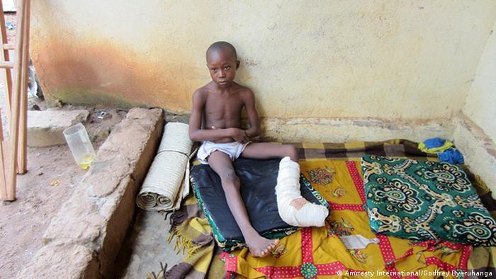 Zentralafrikanische Republik Menschenrechte Opfer von Seleka Rebellen