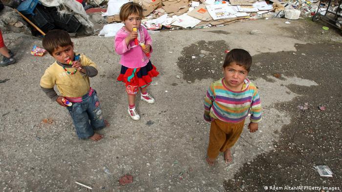 Kleinkinder in Syrien (Foto: Adem Altan/AFP/Getty Images)