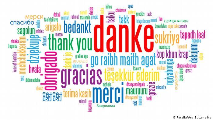 Symbolbild Danke (Fotolia/Web Buttons Inc)