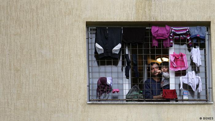 Общежитие для беженцев в Болгарии