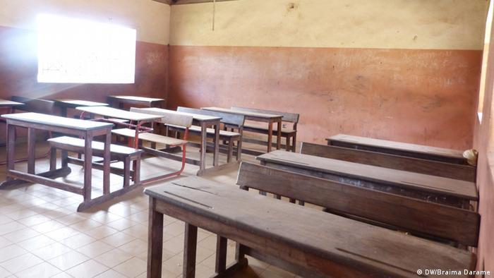 Lehrerstreik in Guinea-Bissau (DW/Braima Darame)
