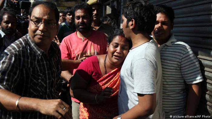 Indien Busunglück (picture-alliance/AP Photo)