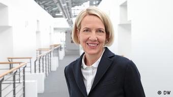 Gerda Meuer ist seit 1. November 2013 Programmdirektorin der DW