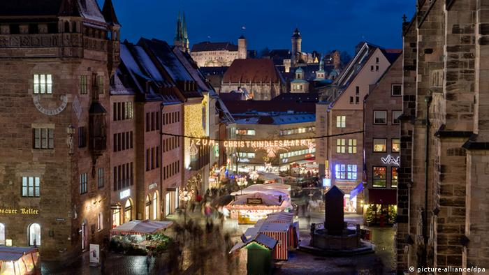 Nuremburg old-town Christmas market