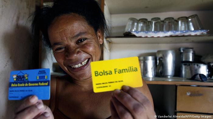 Transferleistungsprogramm der brasilianischen Regierung Bolsa Familia (Vanderlei Almeida/AFP/Getty Images)