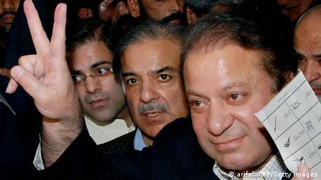Pakistan Nawaz Sharif und Shabaz Sharif