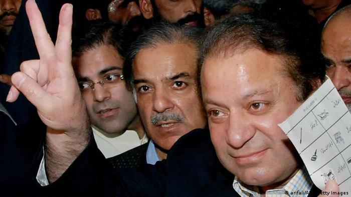 Pakistan Nawaz Sharif und Shabaz Sharif (arifali/AFP/Getty Images)