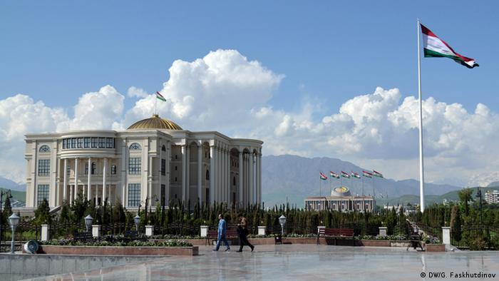 Presidential palace in Dushanbe (Photo: Galim Faskhutdinov)