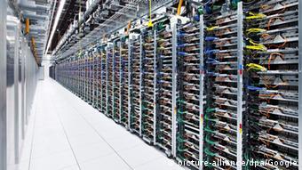 центр хранения данных Google в Прайоре, США
