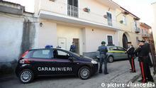 Italien Polizeirazzia Camorra