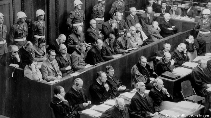 Nürnberger Prozess 1946