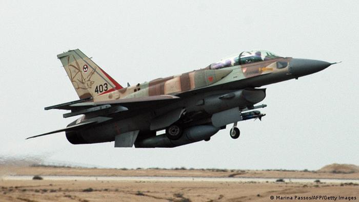 Ізраїльська авіація завдала удару по цілях у Сирії