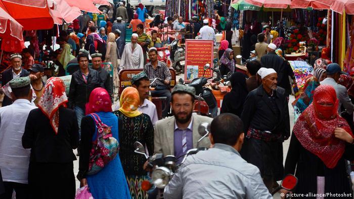 Markt in Hotan - China (picture-alliance/Photoshot)