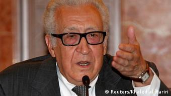 اخضر ابراهیمی، نماینده سازمان ملل و اتحادیه عرب در امور سوریه