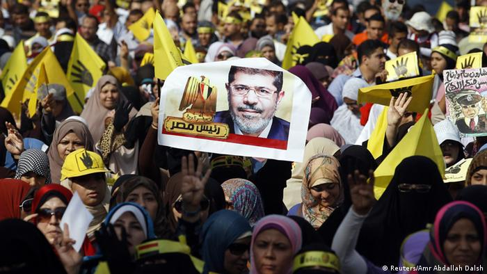 Muslim Brotherhood supporters of deposed President Mohammed Morsi.