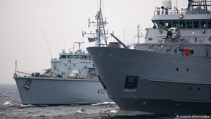 Военно-морские маневры НАТО