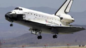 SPACE SHUTTLE aumfahrt Landung Endeavour Edwards Air Force Kalifornien p178