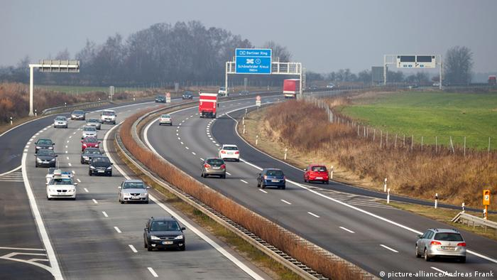 Autobahn A13 Berlin-Dresden near Ragow; **Photo: Andreas Franke**