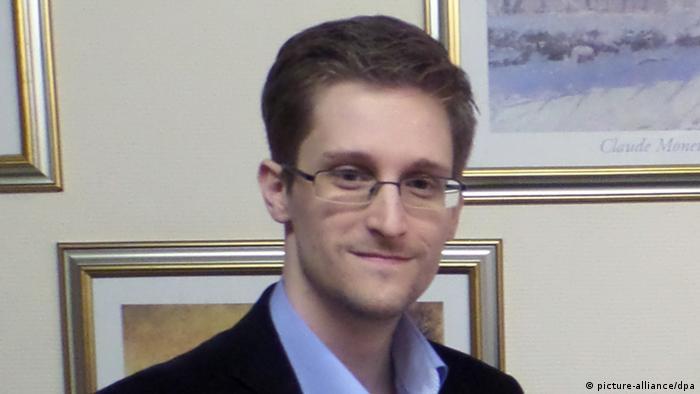 ادوارد اسنودن کارمند سابق آژانس امنیت ملی آمریکا