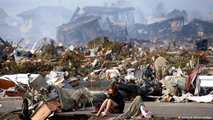 Fukushima Japan Naturkatastrophen