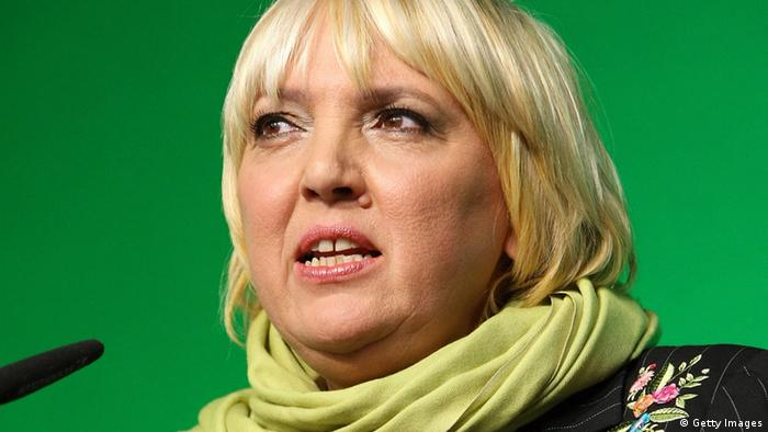 Claudia Roth Bündnis 90 Die Grünen (Getty Images)