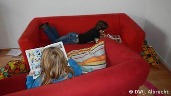 U posebnim prostorijama deca mogu da se odmaraju, da čitaju i da se opuste.