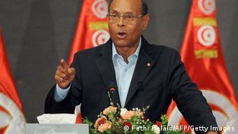 Tunesien Präsident Moncef Marzouki