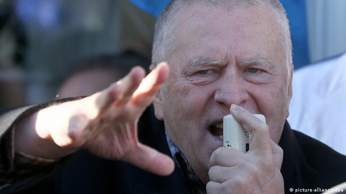 Vladimir Zhirinovsky in 2013 (picture-alliance/dpa)