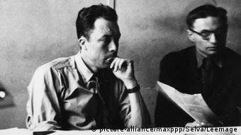 Jean-Paul Sartre & Albert Camus 1944
